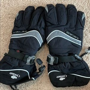 Head warm insulated gloves - soft inside worn once